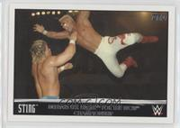 Sting Defeats Lex Luger for the WCW Championship