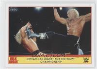 Defeats Lex Luger for the WCW Championship