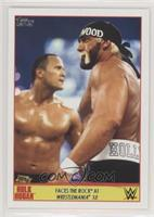 Faces the Rock at Wrestlemania X8