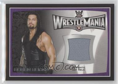 2015 Topps WWE Road to Wrestlemania - Relics #RORE - Roman Reigns
