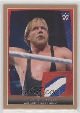 2015 Topps WWE Road to Wrestlemania - Swatch Relics - Bronze #JASW - Jack Swagger /50