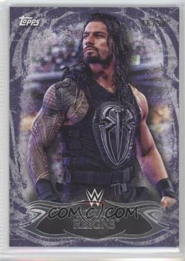 2015 Topps WWE Undisputed - [Base] - Purple #14 - Roman Reigns /50