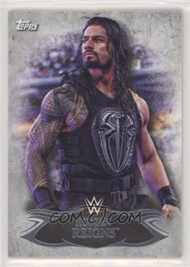 2015 Topps WWE Undisputed - [Base] #14 - Roman Reigns