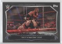 Triple H, Brock Lesnar #/99