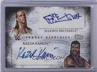 Razor Ramon, Shawn Michaels /25
