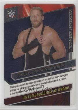 2016 Panini Wrestling Action - [Base] #052 - Silver Action - Jack Swagger