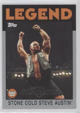 2016 Topps Heritage WWE - [Base] - Divas Championship Silver #106 - Stone Cold Steve Austin /50