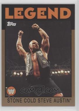 2016 Topps Heritage WWE - [Base] - WWE Tag Team Championship Bronze #106 - Stone Cold Steve Austin /99