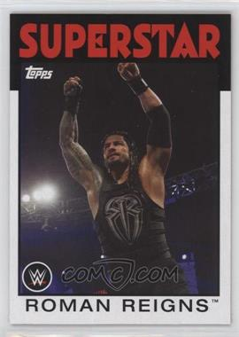 2016 Topps Heritage WWE - [Base] #29 - Roman Reigns