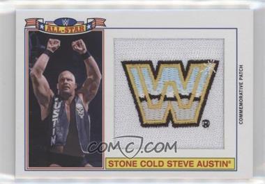2016 Topps Heritage WWE - Commemorative All-Star Patch #STAU - Steve Austin /299