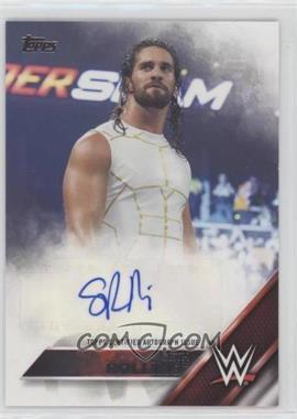2016 Topps WWE - Autographs #SERO - Seth Rollins /99