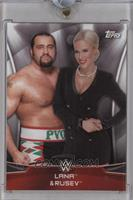 Lana & Rusev /1 [Uncirculated]