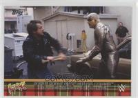 Rowdy Roddy Piper Defeats Goldust in a Hollywood Backlot Brawl