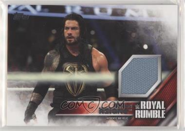 2016 Topps WWE Then Now Forever - Royal Rumble Mat Relic #RORE - Roman Reigns /399