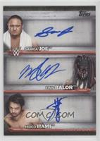 Samoa Joe, Finn Balor, Hideo Itami /11
