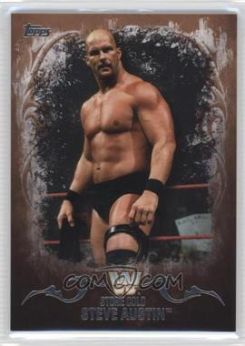 2016 Topps WWE Undisputed - [Base] - Tag Team Championship Bronze #92 - Stone Cold Steve Austin /99