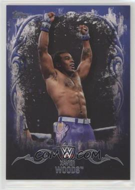 2016 Topps WWE Undisputed - [Base] - US Championship Blue #39 - Xavier Woods /25