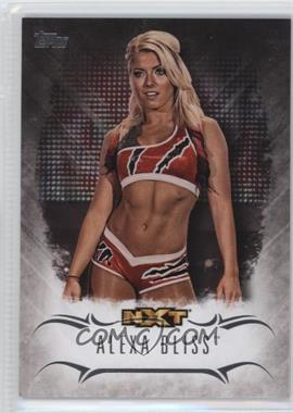 2016 Topps WWE Undisputed - NXT Prospects #NXT-2 - Alexa Bliss