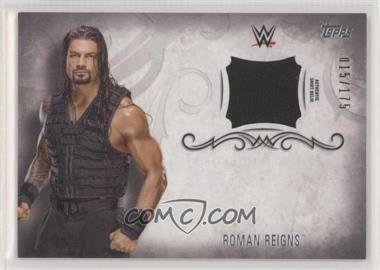 2016 Topps WWE Undisputed - Relics #UAR-RR - Roman Reigns /175