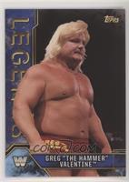 Greg The Hammer Valentine Wrestling Cards