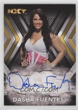 2017 Topps WWE NXT - Autographs #RA-DF - Dasha Fuentes