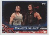 Roman Reigns & Dean Ambrose #/99