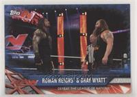 Roman Reigns & Bray Wyatt #/99