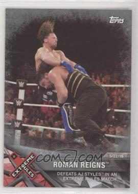 2017 Topps WWE Road to Wrestlemania - [Base] - Silver #88 - Roman Reigns /25