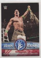 Wins the WWE World Heavyweight Championship in a Ladder Match