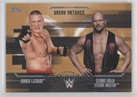 Stone Cold Steve Austin, Brock Lesnar #/99
