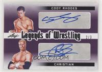 Cody Rhodes , Christian #/3