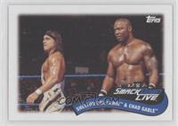 Shelton Benjamin & Chad Gable