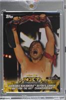 Shinsuke Nakamura Defeats Samoa Joe for the NXT Championship [Uncirculated] #/1