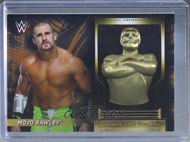2018 Topps WWE Road to Wrestlemania - Andre the Giant Battle Royal Commemorative Trophy Relics - Bronze #AC-MR - Mojo Rawley /99