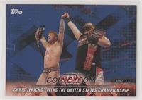 Chris Jericho Wins the United States Championship #/99