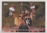 Luke Gallows & Karl Anderson win the Raw Tag Team Championship [EXto…