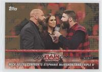 Mick Foley Confronts Stephanie McMahon and Triple H
