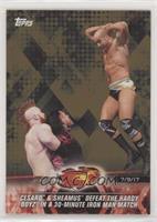 Cesaro & Sheamus Defeat The Hardy Boyz in a 30-Minute Iron Man Match