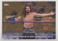 WWE Cruiserweight Champion The Brian Kendrick Defeats Kalisto
