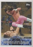 Dolph Ziggler Defeats The Miz for the Intercontinental Championship