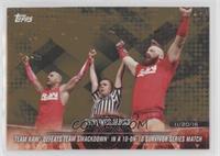 Team Raw Defeats Team SmackDown in a 10-on-10 Survivor Series Match