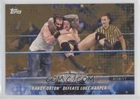 Randy Orton Defeats Luke Harper