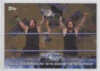 The Usos Defeat American Alpha for the SmackDown Tag Team Championship