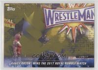Randy Orton Wins the 2017 Royal Rumble Match #/10