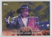 Undertaker Returns to Raw #/10