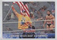 John Cena Defeats Rusev in a Flag Match /25