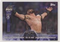 Neville Defeats Rich Swann for the WWE  Cruiserweight Championship #/1