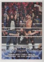 The New Wyatt Family Win the SmackDown Tag Team Championship /1
