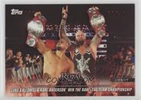 Luke Gallows & Karl Anderson win the Raw Tag Team Championship