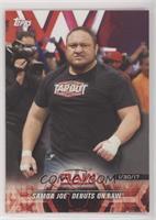 Samoa Joe Debuts on Raw